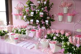 Pink Wedding Candy Buffet by Event Decor For Small Yard Pink Garden Party 300x200 Awesome