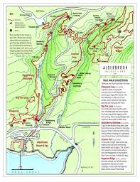 Big Sky Trail Map Nature Trails Alderbrook Resort U0026 Spa