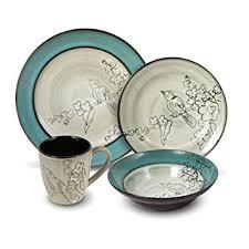 gourmet basics song bird 32 dinnerware set