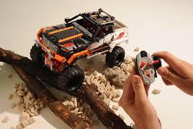 vauxhall lego lego technic 4x4 r c rock crawler auto express