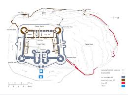 file harlech castle plan jpg wikimedia commons