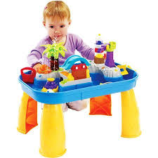 wheels world play table the sights and sounds splash table is great for indoor play as well