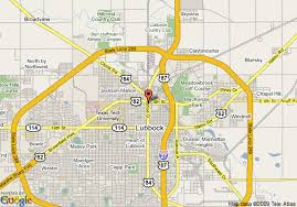 lubbock on map map of radisson hotel lubbock downtown lubbock
