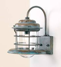 Outdoor Lighting Wall Sconce Fredeco Nautical Sconce Tropical Wall Sconces Curb Appeal