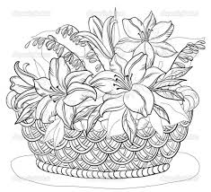 pencil shading of flowers in a basket how to draw a flower vase