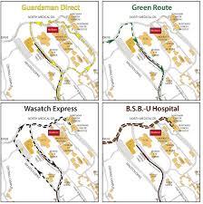 Uta Map Construction U0026 Commuter Updates Theu