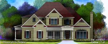 amherst house plan house plans by garrell associates inc