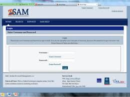 federal service help desk sam creating your user account 4 30 13