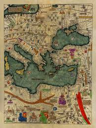 medieval map all kingdoms of the world catalan atlas 1375 4