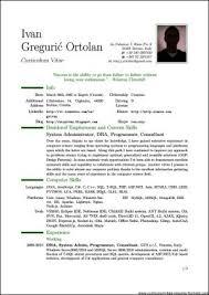free pdf resume template pdf resume template resumes sle curriculum vitae format cv