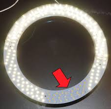 circular fluorescent light led replacement circular bulb replacement in desk l robot room