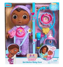 disney junior doc mcstuffins get better baby cece set toys