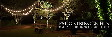Patio String Lights by Best Outdoor String Lights Home Design Ideas And Pictures