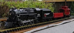 garden railroading with trains
