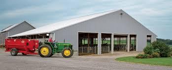 Cattle Barns Designs Livestock Facilities Morton Buildings