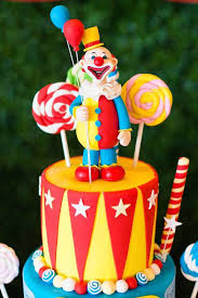 Circus Birthday Decorations The 25 Best Carnival Birthday Cakes Ideas On Pinterest Circus