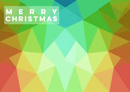 merry christmas colorful xmas card a4 size by focusofficial on