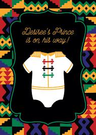 african baby shower invitations cimvitation