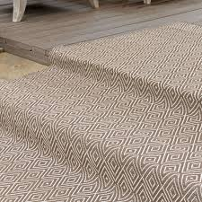 Albert And Dash Outdoor Rugs Dash And Albert Charcoal Taupe Indoor Outdoor Rug Ships Free