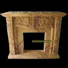 yellow onyx fireplace mantel chimneypiece