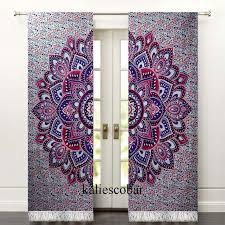 Bohemian Drapes 16 Best Mandala Curtain S Images On Pinterest Mandalas Curtain