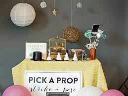 photo booth setup how to set up a diy photo booth with props and backdrop hgtv