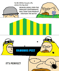 Funny Breaking Bad Memes - breaking bad comic it s just a fly mr white breaking bad