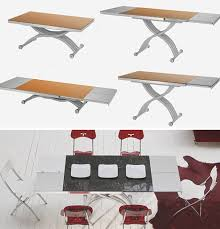 Coffee And Dining Table In One Transforming Tables Convert Coffee To Dining Surfaces