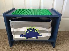 duplo table with storage the loflands diy duplo table kids bedroom pinterest