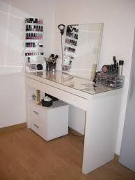 coiffeuse pour chambre coiffeuse ikea malm rangement pratique id e d co chambre con meuble