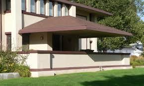 exterior charles l manson house frank lloyd wright prairie style