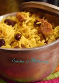 cuisiner les haricots rouges secs accompagnements recette réunion riz haricots rouges légumes secs