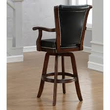 Swivel Bar Stool With Back with Furniture Cozy Lowes Wood Flooring With White Baseboard And Dark