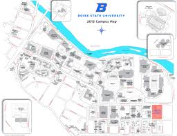 Iowa State Campus Map boise state university campus map
