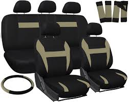 Ford Ranger Truck Seats - truck seat covers for ford ranger tan black w steering wheel belt