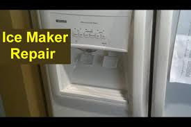 kenmore coldspot refrigerator ice maker repair auger ice pusher