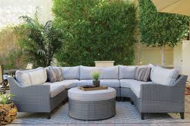 Outdoor Sectional Sofa Oahu Outdoor Sectional Sofa With Ottoman The Dump America S