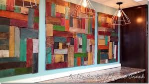 reclaimed wood wall pottery barn knock on the banks of