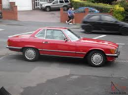convertible mercedes red 1987 classic mercedes 420 sl auto signal red convertible