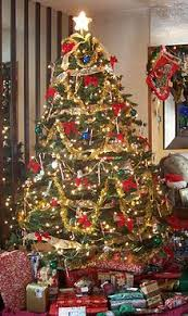 How To Decorate A Christmas Tree Christmas Decoration Wikipedia