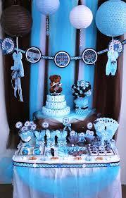 teddy baby shower ideas brown blue teddy theme baby shower party ideas blue teddy