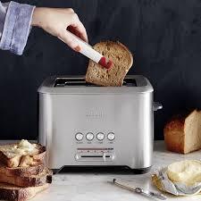 Cream Breville Toaster Breville Bit More Toaster 2 Slice Williams Sonoma