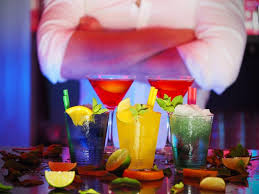 colorful summer cocktail ideas uss nemo restaurant
