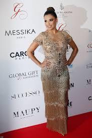 Hit The Floor Online - eva longoria oozes golden glamour in flapper dress daily mail online