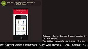 completely free finder redlaser barcode scanner deal finder qr code reader iphone