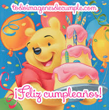 imagenes de feliz cumpleaños amor animadas winnie pooh imágenes tarjetas frases dulces y mensajes de amor