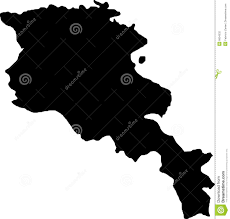 Map Of Armenia Vector Map Of Armenia Stock Photography Image 6604532