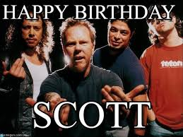 Metallica Meme - happy birthday metallica meme on memegen
