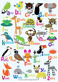 6 best images of alphabet animals a to z from a to z animal