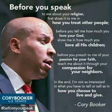Cory Booker Meme - we are not all children of god cory booker and the plot to
